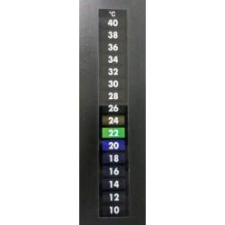 Thermomètre à cristaux liquide