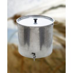 Casserole inox 150 litres